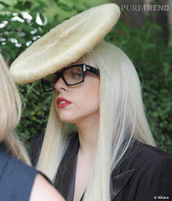 Lady Gaga et la coiffure, tout un concept.