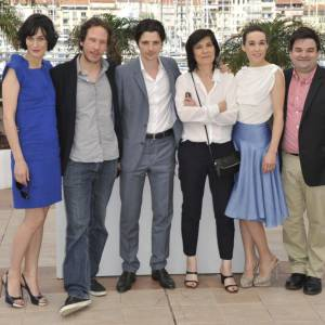 Catherine Corsini et l'équipe du film lors du 65e Festival de Cannes.