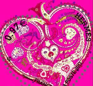 Hermès revisite le timbre de La Poste pour la Saint Valentin