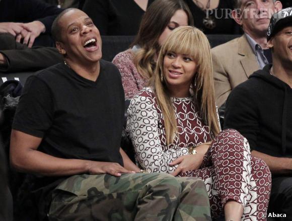 Beyoncé et Jay-Z : couple glamour mais mystérieux.