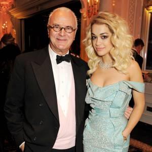 Manolo Blahnik et Rita Ora.
