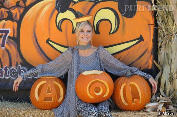 Heidi Klum vous invite à sa soirée d'Halloween.