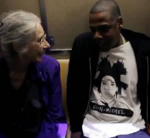 Jay-Z prend le métro et fait une charmante rencontre.