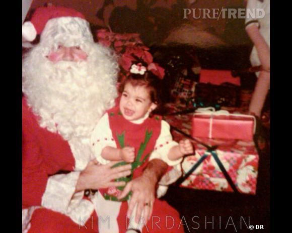Sur son blog, la star s'amuse à poster quelques photos vintage sur le thème de Noël.