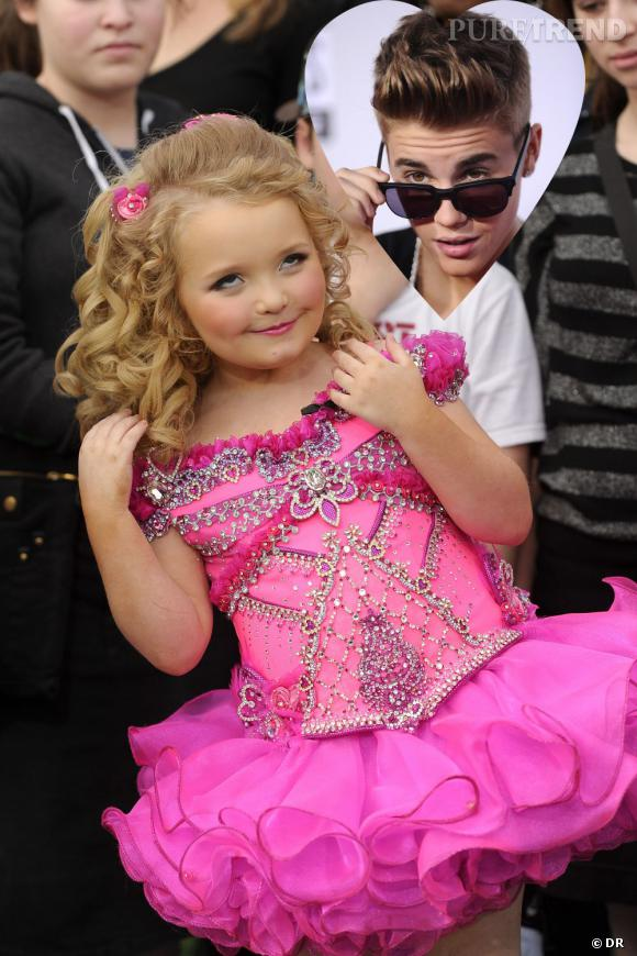 Honey Boo Boo est la dernière fan autoproclamée de Justin Bieber et avoue un énorme crush pour le chanteur.