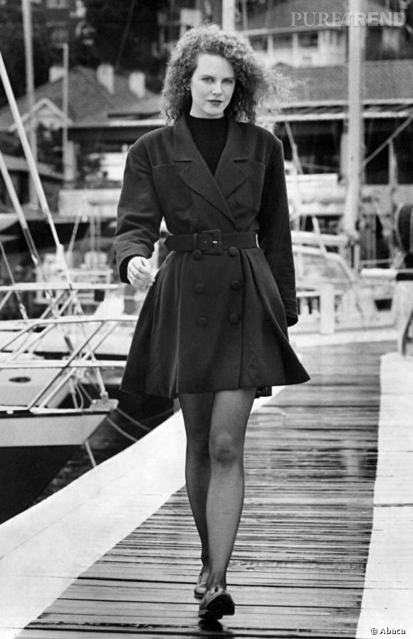 1990: Nicole Kidman est un sex-symbol grâce au succès de  Jours de Tonnerre , film dans lequel elle rencontre Tom Cruise.