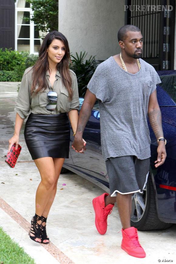 Kim Kardashian et Kanye West, un couple qui marche !