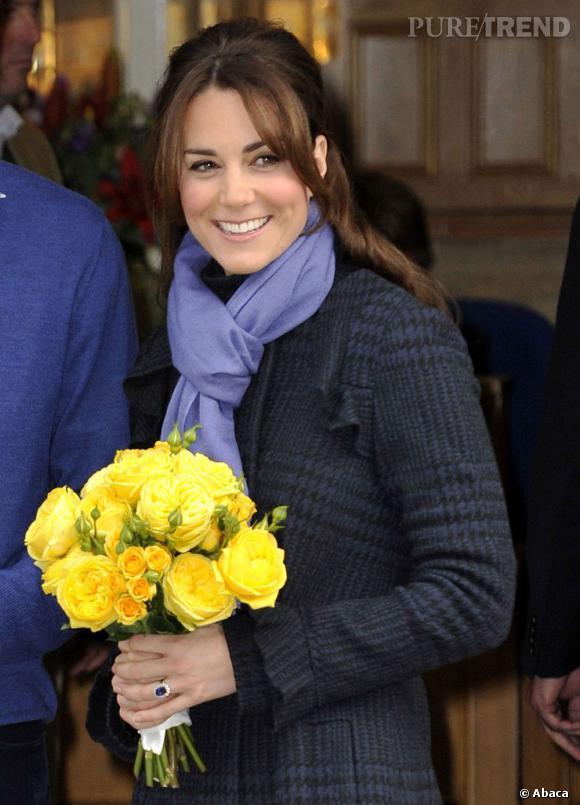 Pour lutter contre ses nausées matinales, Kate Middleton croque des biscuits à la lavande.
