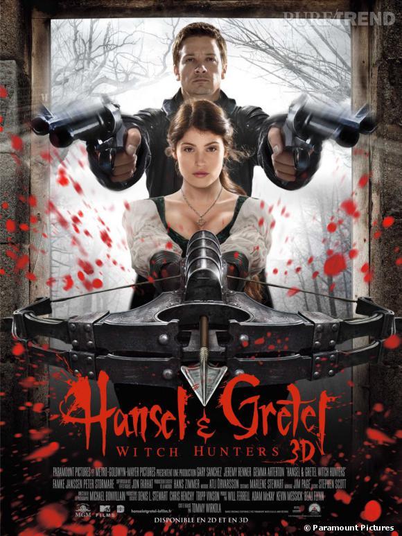 """La nouvelle affiche de """"Hansel & Gretel"""" donne le ton."""