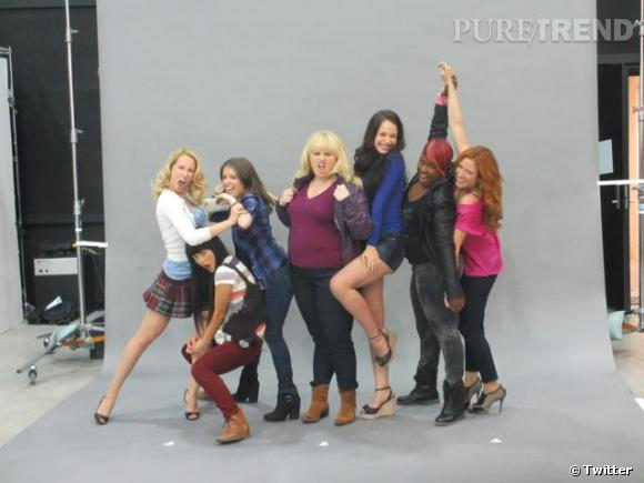 "Rebel Wilson adore ses camarades du film ""Pitch Perfect"" !"
