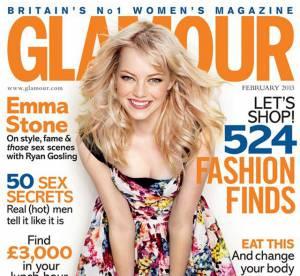 Emma Stone pour Glamour UK : son style, Ryan Gosling et les paparazzis
