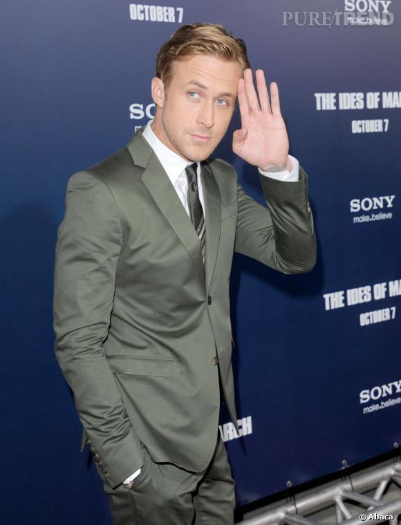 """Ryan Gosling a été nommé """"homme le plus recherché d'Amérique"""" par le magazine People. On doit avouer qu'en France aussi, on lui mettrait bien le grappin dessus."""