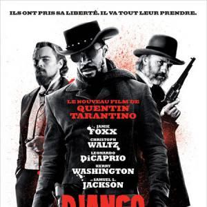 """Le film : """"Django Unchained"""".  L'année de sortie : 2013."""