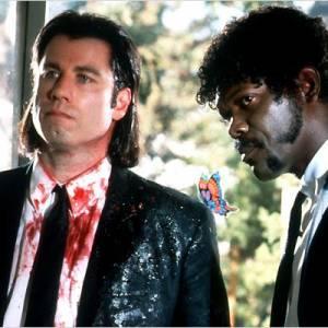"""Le film : """"Pulp Fiction"""" L'année de sortie : 1994."""