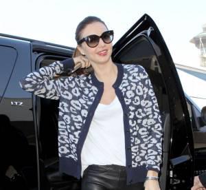 Miranda Kerr, du cuir mode pour s'envoyer en l'air... A shopper !