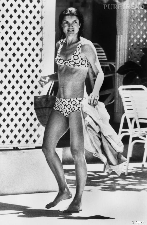 Très attentive à son alimentation, Jackie Kennedy a toujours gardé une silhouette svelte et sportive.