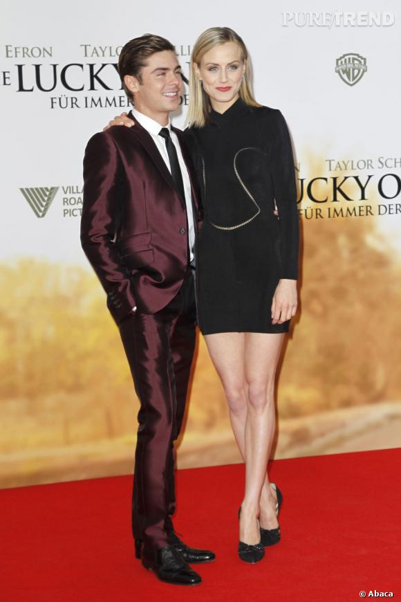 """Zac Efron et Taylor Schilling ont joué ensemble pour """"The Lucky One""""."""