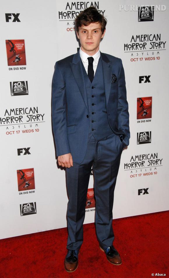 Evan Peters fête ses 26 ans.