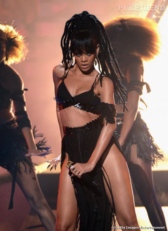 Rihanna a quant à elle déjà essayé les dread.