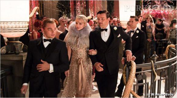 """""""Gatsby le Magnifique"""" avec Leonardo DiCaprio et Carey Mulligan."""