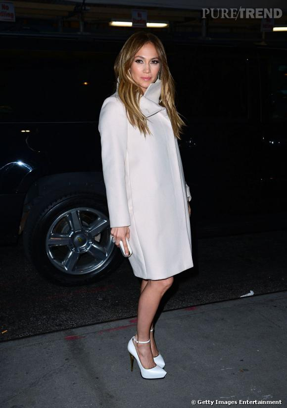 """Jennifer Lopez fait son arrivée à la projection de """"Parker"""" à New York."""