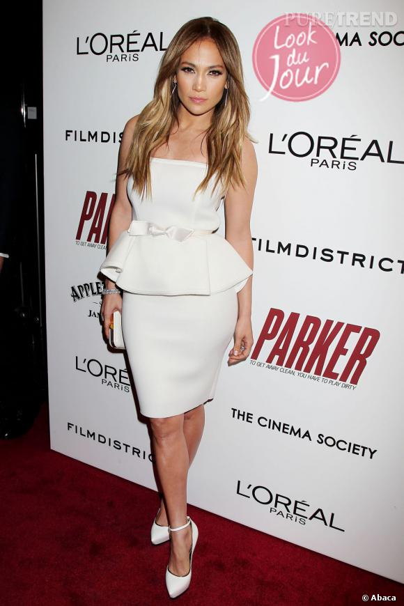"Jennifer Lopez lors d'une projection de ""Parker"" à New York."
