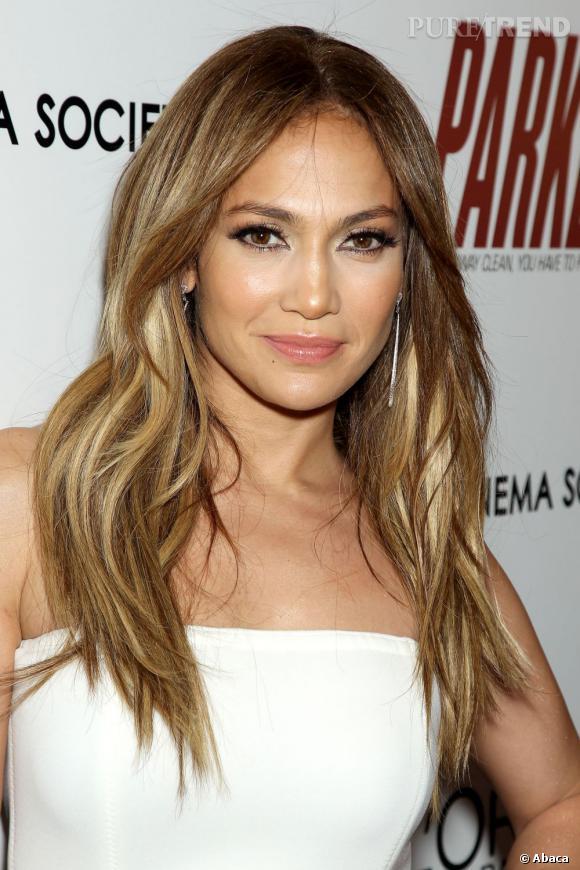 """Jennifer Lopez lors d'une projection de """"Parker"""" à New York, toujours aussi radieuse."""