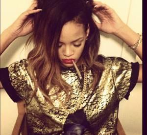 Rihanna et son joint dans la bouche... le scandale de trop ?