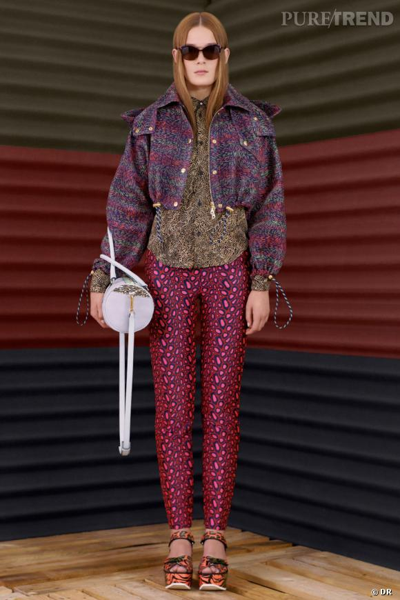 Kenzo collection Resort 2013 : silhouettes coups de coeur