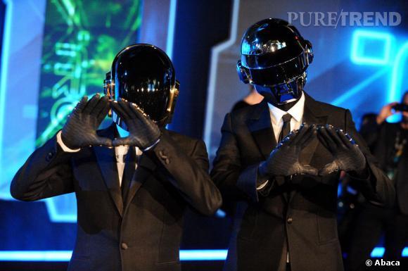 Les Daft Punk, un groupe star qui arrive toujours à se cacher.
