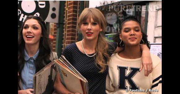 Taylor Swift décroche deux campagnes de pub pour 2013, l'une pour Keds l'autre pour Diet Coke.