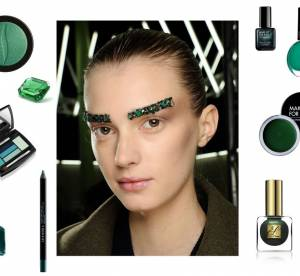 Make-up : Plein phare sur le vert émeraude
