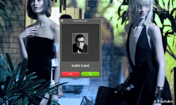 Vidéo de la campagne Printemps-Été 2013 Lanvin avec Alber Elbaz.
