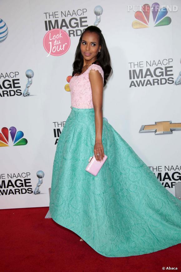 Kerry Washington aux NAACP Image Awards à Los Angeles le 1 février 2013.