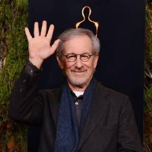 Steven Spielberg au dîner pré-Oscars 2013.