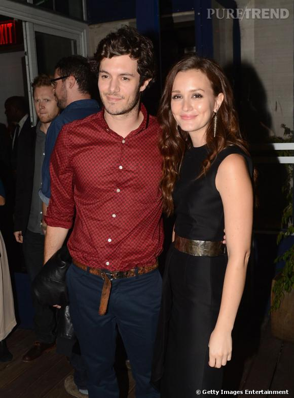 Leighton Meester et Adam Brody : Alerte couple !
