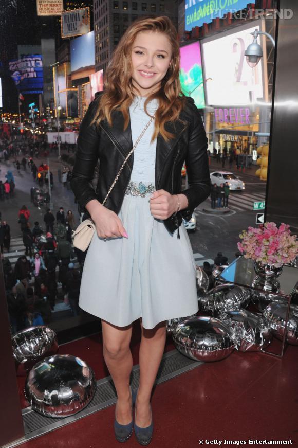 Chloë Moretz, la mini it-girl fête ses 16 ans.