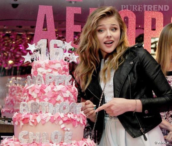 Chloë Moretz, une magnifique Sweet 16 !