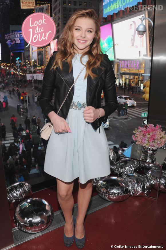 Chloë Moretz fête sa Sweet 16 avec Teen Vogue !