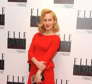 Charlotte Dellal aux Elle Style Awards à Londres.