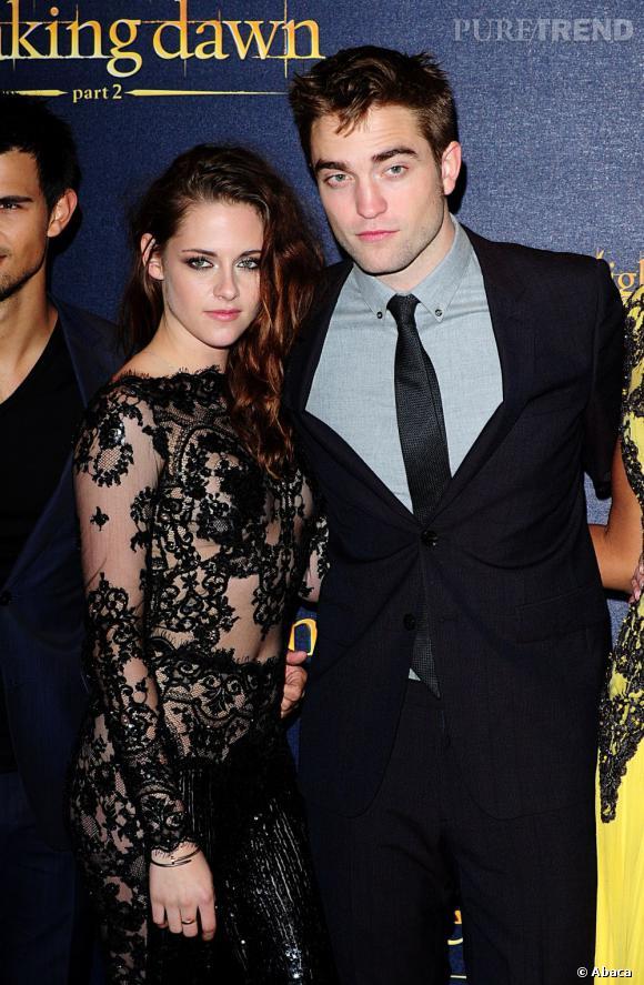 Kristen Stewart et Robert Pattinson : tout va bien pour le couple.