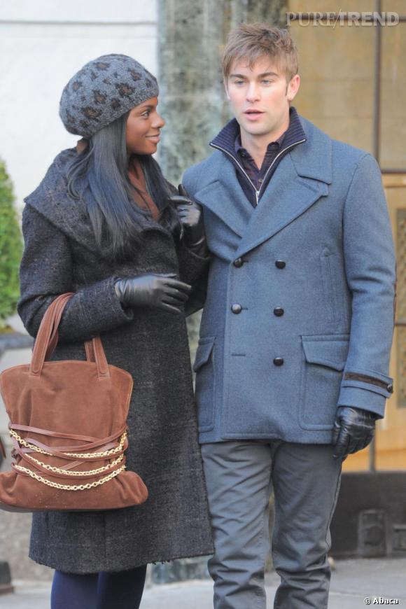 "Chace Crawford ici en tournage pour ""Gossip Girl"" veut casser son image."