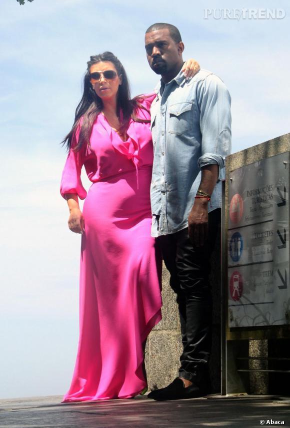 Kim Kardashian et Kanye West attendraient une petite fille ! Une bonne nouvelle pour le couple, accro à la mode.