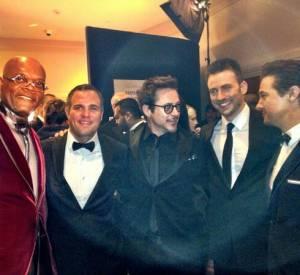 La troupe des Avengers est (presque) au complet pour les Oscars.