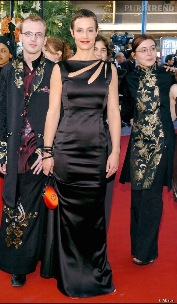 En 2004 au Festival de Cannes, Cécile de France mise sur l'esprit asiatique...