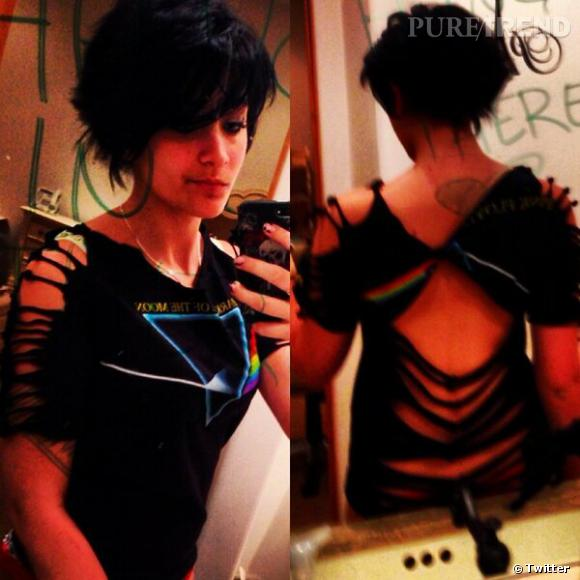 Paris Jackson, sa transformation sur Twitter.