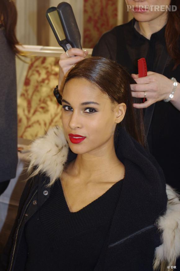 L'inspiration de ce maquillage vient des actrices mystérieuse et glamour d'Hollywood.