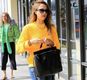Jessica Alba, maman grunge et funky a Los Angeles... A shopper !