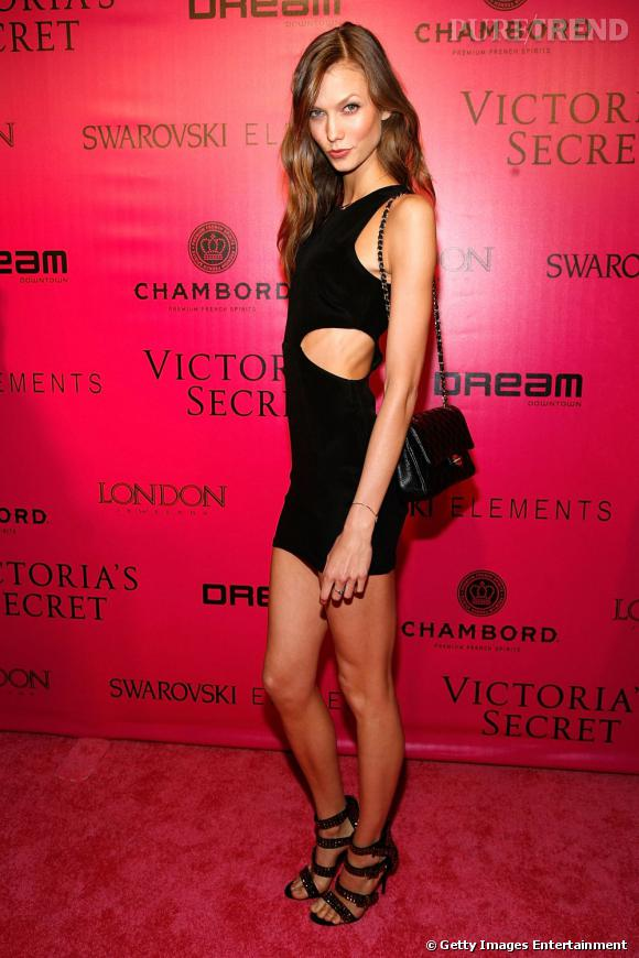 Karlie Kloss lors d'une after-party Victoria's Secret.
