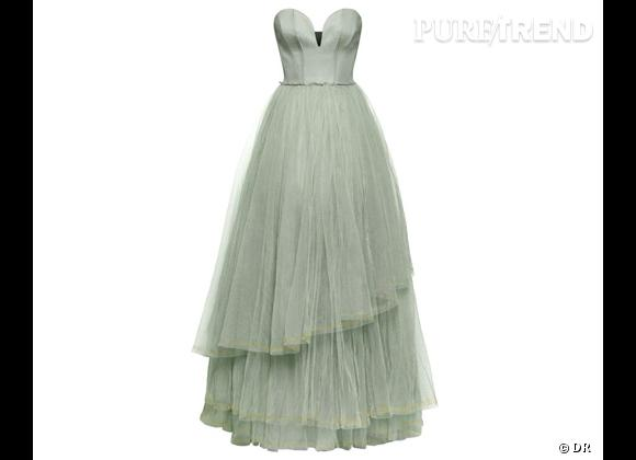Must have H&M : la collection Conscious Exclusive    Robe longue bustier H&M Conscious Exclusive, 199 €